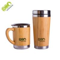 China Personalized Thermos Bamboo Vacuum Tea Strainer Flask Diameter 7 Cm on sale