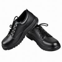 China Black Safety Shoes w/ Stylish Design, Comfortable Wearing, Durability Property, OEM Services Provide wholesale