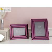 China Mirror Glass Wall Art Picture Frame / Horizontal 5x7 Picture Frames For Hotel wholesale