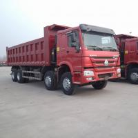China SINOTRUK HOWO 12 Wheels Dump/Tipper Trucks With 371HP Optional color Euro 2 on sale