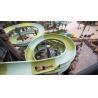 China Water Park Construct Fiberglass Open Spiral Water Park Slide 400 Rider / H / Lane wholesale