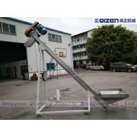 China Loading Distance Plastic Powder Flexible Screw Conveyor Loader For Mixers on sale
