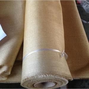 China Packing Materials Vermiculite Coated Fiberglass Cloth , 2025 High Temperature Fabric wholesale