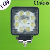 China Waterproof Diecast Aluminum High Power LED Worklight with PMMA Lens for Bus 27w IP67 OEM wholesale