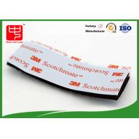 China Strong Adhesive Hook and Loop Tape / Magic Custom Hook And Loop Patches With 3m Glue wholesale