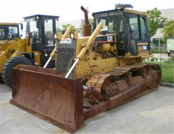 Quality Good maintenance secondhand caterpillar d6h/d6d/d6g/d7g/d8k/d8r/ bulldozer with rippers hot sale for sale