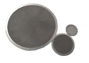 China ISO9001 0.2mm Wire 50 Mesh Stainless Steel Screen For Granular Strainer wholesale