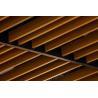 China U Shape Square  Aluminum Baffle Ceiling Wood Pattern   40×100 / 50×100 wholesale