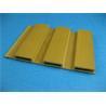 China Economic Sandalwood PVC Extrusion Profiles WPC Interior Decoration wholesale