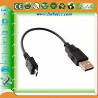 China gold plated micro usb charging cable wholesale