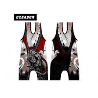 China Customized Design High Quality Cool Cheap Wrestling Singlets , Sublimated Printing Cool Dry Wrestling Singlets wholesale