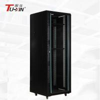 China Universal 19 Inch 32U Standing Network Cabinet Fireproof Self Temperature Regulated on sale