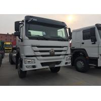 China SINOTRUK HOWO Dropside Cargo Commercial Vehicles Truck Chassis LHD 6X4 371HP on sale