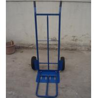 China Folding Hand Trolley (HT1823) TRUCK RUBBER WHEEL WHEELBARROW WHEEL BARROW GARDEN TOOL CART wholesale