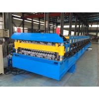 IBR Roof Sheeting Double Layer Roll Forming Machine 0.4mm - 0.8mm Q230-550