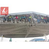 China Aluminium Stage Roof Truss For Indoor and Outdoor Event on sale