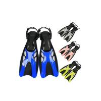 China Adjustable Travel Size Diving Swim Fins Durable For Adult Men Women on sale