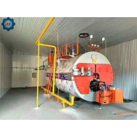 China Fire Tube Industrial Oil/Natural Gas Fired Packaged Steam Boiler For Yoghurt Processing Plant wholesale