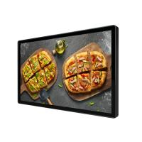 China Super Thin LCD Advertising Screen 55 Inch Wall Mounted For Restaurant wholesale
