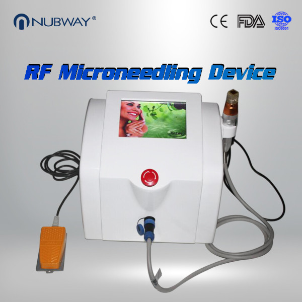 Quality Christmas Promoting Face Lift Scars Removal Fractional RF MicroNeedle Machine for sale