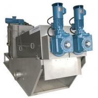 China Mechanical Sludge Dewatering Machine Screw Type Filter Press Easy Operation on sale