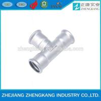 China stainless steel High Pressure Pipe Fittings Equal Tee Manufacturer wholesale