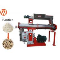 China Stainless Steel Conditioner Animal Feed Making Machine With Siemens Motor wholesale