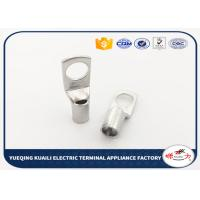 China Crimp Terminal Tin Plated Battery Cable Lugs Terminals / Tin Plated Copper Lugs on sale