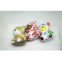 China OEM Colorful Teddy Bear Coffee / Money Tin Box 0.25 MM Thickness wholesale