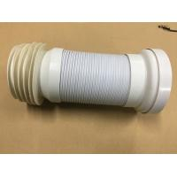 China Adjustable Length Toilet Drain Pipe / Organ Tube With Double Layer Structure Tube Wall wholesale