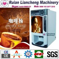 China instant coffee making machine raw material 3 in 1 microcomputer Automatic Drip coin operated instant wholesale