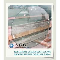 China decorative glass table top (round,oval,square,rectangle) wholesale