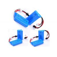 China 2S1P 7.4 V 650mah Battery / 14500 Rechargeable Battery With PCM , 12 Months Warranty wholesale