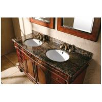 China Ogee Edge Granite Bathroom Countertops , Baltic Brown Granite Countertops on sale