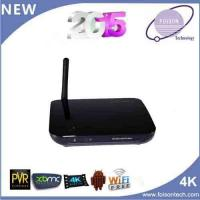 China Hottest Android TV-Box with Quad Core Rk3188 Support H. 265 on sale
