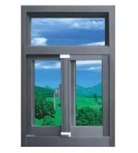 China Commercial double glazed interior Soundproof Aluminium window framing wholesale