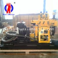 China supply engineering exploration drillequipment /wheeled hydraulic drilling rig  trailer type drill for price wholesale