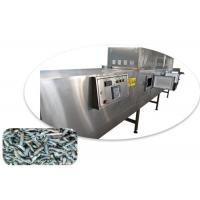 China 60KW Electronic Automatic SUS304 Microwave Dryer For Drying Black Soldier Fly Larva Meal Worms wholesale