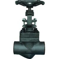 China Forged steel sw ends globe valve A105 N wholesale