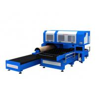 China 1500w 3 Phase CO2 Metal Laser Cutting Machine With Flat / Rotary Die Cutting on sale