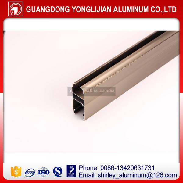 Quality Aluminum factory supply bronze anodized window and door aluminum profiles for sale