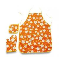 China Cooking Aprons, Various Patterns, Colors and Sizes Available wholesale