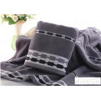 China Jacquard Style Microcotton Bath Towels Natural Anti Bacterial 400 Gsm wholesale