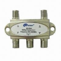 China Satellite DiSEqc Switch with 900 to 2,300MHz Frequency and  on sale