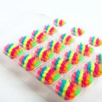 China Lovely 3D Spiky Silicone Fake Nails Coloful Plastic Artificial Nail Art wholesale