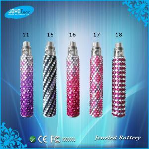 China Luxurious eGO Style Diamond battery Fashion design shining diamond bling bling ego battery on sale