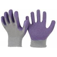 China 13 Gauge Latex Coated Work Gloves Crinkle Finish , Thermal Latex Coated Gloves on sale