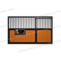 China Simple Boarding Horse Stall System Horse Stables For Horses With Sliding Door on sale