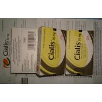 China Cialis Tablets 20mg Film Coated Tablets Tadalafil With 4 Tablets Per Box wholesale