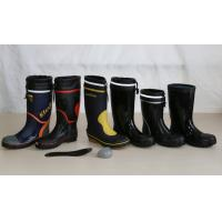 China Rubber Safety Boots, Fireman's Boots, Fire Fighter's Boots on sale